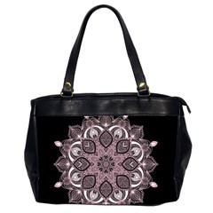 Ornate Mandala Office Handbags (2 Sides)  by Valentinaart