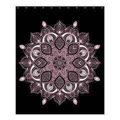 Ornate Mandala Shower Curtain 60  X 72  (medium)  by Valentinaart