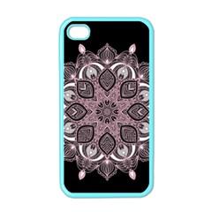 Ornate Mandala Apple Iphone 4 Case (color) by Valentinaart