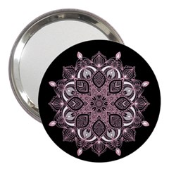 Ornate Mandala 3  Handbag Mirrors by Valentinaart