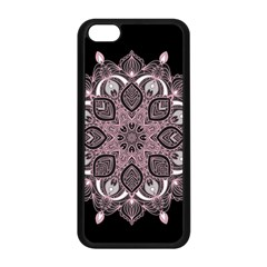 Ornate Mandala Apple Iphone 5c Seamless Case (black) by Valentinaart