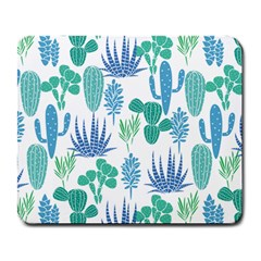 Palm Leves Pattern02 Large Mouse Pad (rectangle) by skyblue