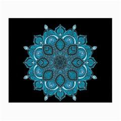 Ornate Mandala Small Glasses Cloth by Valentinaart