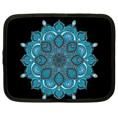 Ornate Mandala Netbook Case (large) by Valentinaart
