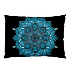 Ornate Mandala Pillow Case (two Sides) by Valentinaart