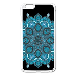 Ornate Mandala Apple Iphone 6 Plus/6s Plus Enamel White Case by Valentinaart