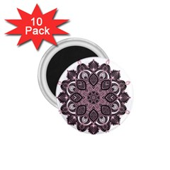 Ornate mandala 1.75  Magnets (10 pack)  by Valentinaart