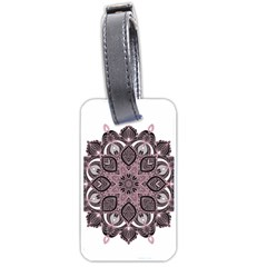 Ornate Mandala Luggage Tags (two Sides) by Valentinaart