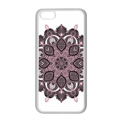 Ornate Mandala Apple Iphone 5c Seamless Case (white) by Valentinaart