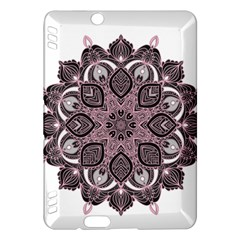 Ornate Mandala Kindle Fire Hdx Hardshell Case by Valentinaart