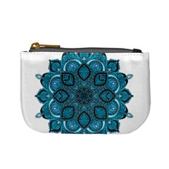 Ornate Mandala Mini Coin Purses by Valentinaart