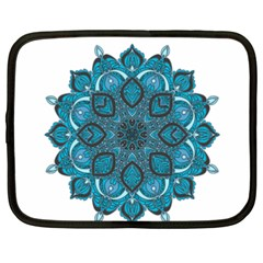 Ornate Mandala Netbook Case (xxl)  by Valentinaart