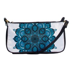 Ornate Mandala Shoulder Clutch Bags by Valentinaart