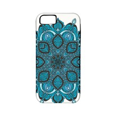 Ornate Mandala Apple Iphone 5 Classic Hardshell Case (pc+silicone) by Valentinaart