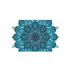 Ornate Mandala Satin Wrap by Valentinaart