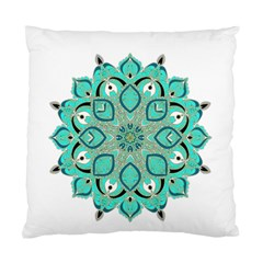 Ornate Mandala Standard Cushion Case (one Side) by Valentinaart