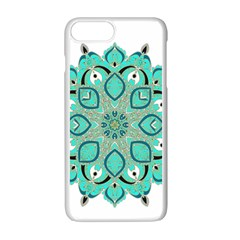 Ornate Mandala Apple Iphone 7 Plus White Seamless Case by Valentinaart