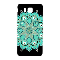 Ornate Mandala Samsung Galaxy Alpha Hardshell Back Case by Valentinaart