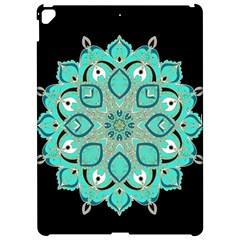 Ornate Mandala Apple Ipad Pro 12 9   Hardshell Case by Valentinaart