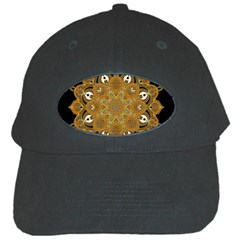 Ornate Mandala Black Cap by Valentinaart