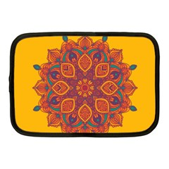 Ornate Mandala Netbook Case (medium)  by Valentinaart