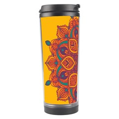 Ornate Mandala Travel Tumbler by Valentinaart