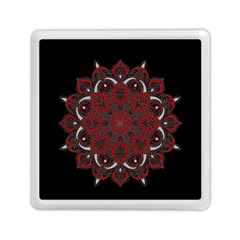 Ornate Mandala Memory Card Reader (square)  by Valentinaart