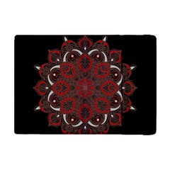 Ornate Mandala Apple Ipad Mini Flip Case by Valentinaart