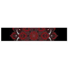 Ornate Mandala Flano Scarf (small) by Valentinaart