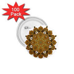 Ornate Mandala 1 75  Buttons (100 Pack)  by Valentinaart