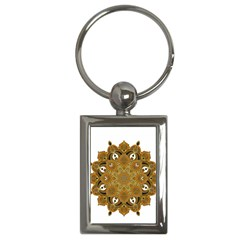 Ornate Mandala Key Chains (rectangle)  by Valentinaart