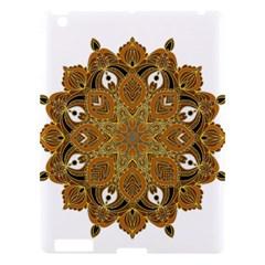 Ornate Mandala Apple Ipad 3/4 Hardshell Case by Valentinaart