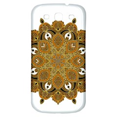 Ornate Mandala Samsung Galaxy S3 S Iii Classic Hardshell Back Case by Valentinaart
