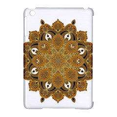Ornate Mandala Apple Ipad Mini Hardshell Case (compatible With Smart Cover) by Valentinaart