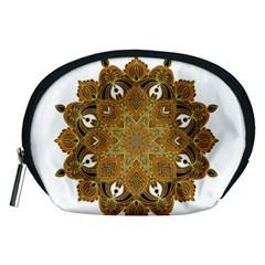 Ornate Mandala Accessory Pouches (medium)  by Valentinaart