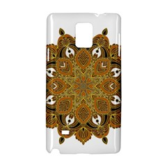 Ornate Mandala Samsung Galaxy Note 4 Hardshell Case by Valentinaart