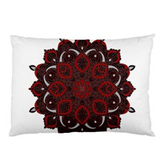 Ornate Mandala Pillow Case by Valentinaart