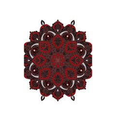 Ornate Mandala Shower Curtain 48  X 72  (small)  by Valentinaart