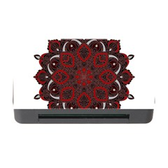 Ornate Mandala Memory Card Reader With Cf by Valentinaart