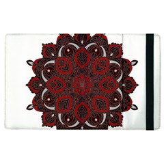 Ornate Mandala Apple Ipad 3/4 Flip Case by Valentinaart