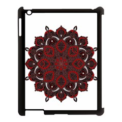 Ornate Mandala Apple Ipad 3/4 Case (black) by Valentinaart