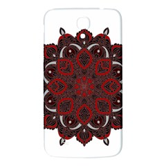 Ornate Mandala Samsung Galaxy Mega I9200 Hardshell Back Case by Valentinaart