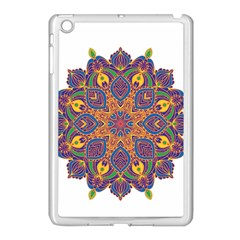 Ornate Mandala Apple Ipad Mini Case (white) by Valentinaart