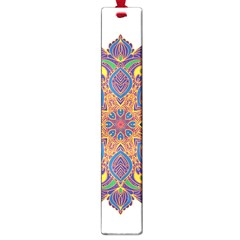 Ornate Mandala Large Book Marks by Valentinaart