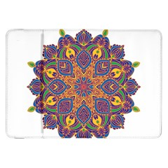 Ornate Mandala Samsung Galaxy Tab 8 9  P7300 Flip Case by Valentinaart