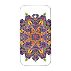 Ornate Mandala Samsung Galaxy S4 I9500/i9505  Hardshell Back Case by Valentinaart
