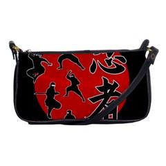 Ninja Shoulder Clutch Bags by Valentinaart