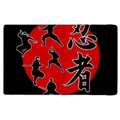 Ninja Apple Ipad 2 Flip Case by Valentinaart