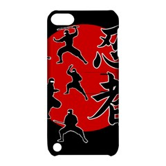 Ninja Apple Ipod Touch 5 Hardshell Case With Stand by Valentinaart