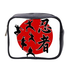 Ninja Mini Toiletries Bag 2 Side by Valentinaart